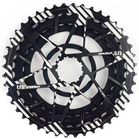 e*thirteen Aluminum diced Sprockets 32-38-44 for TRS + cassette 11-compartment black